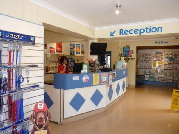 Pet Doctor Reception