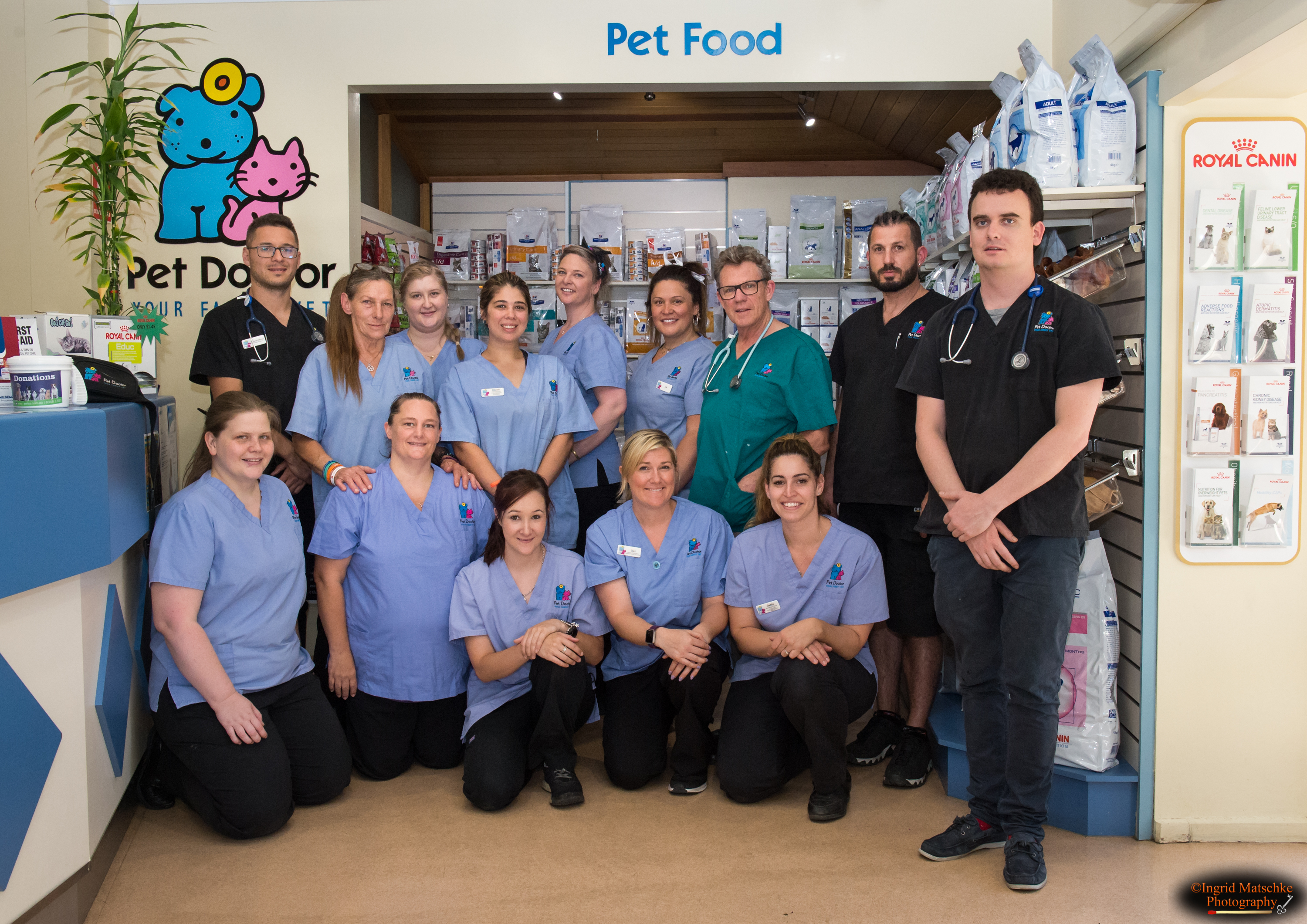 Pet Doctor team